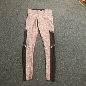 Nike ultimate workout leggings grey holographic